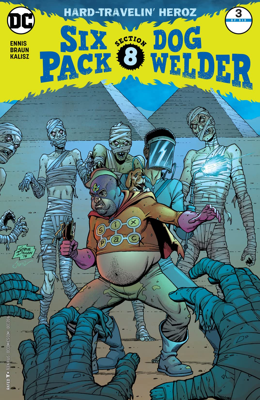 Sixpack and Dogwelder: Hard Travelin' Heroz (2016-2017) #3