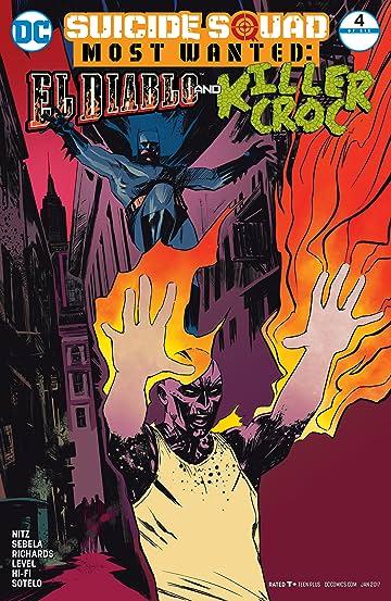 Suicide Squad Most Wanted: El Diablo and Killer Croc (2016-2017) #4