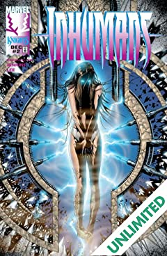 Inhumans (1998-1999) #2 (of 12)