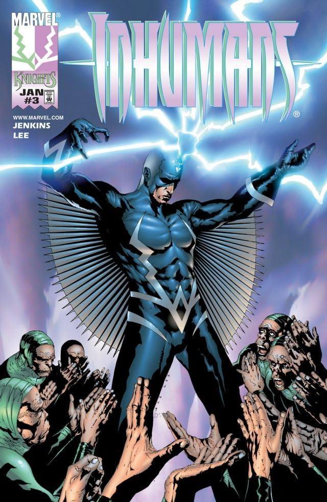 Inhumans (1998-1999) #3 (of 12)