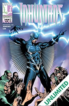 Inhumans (1998-1999) #3 (of 12)