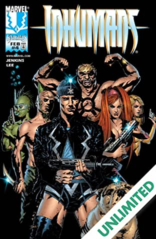 Inhumans (1998-1999) #4 (of 12)