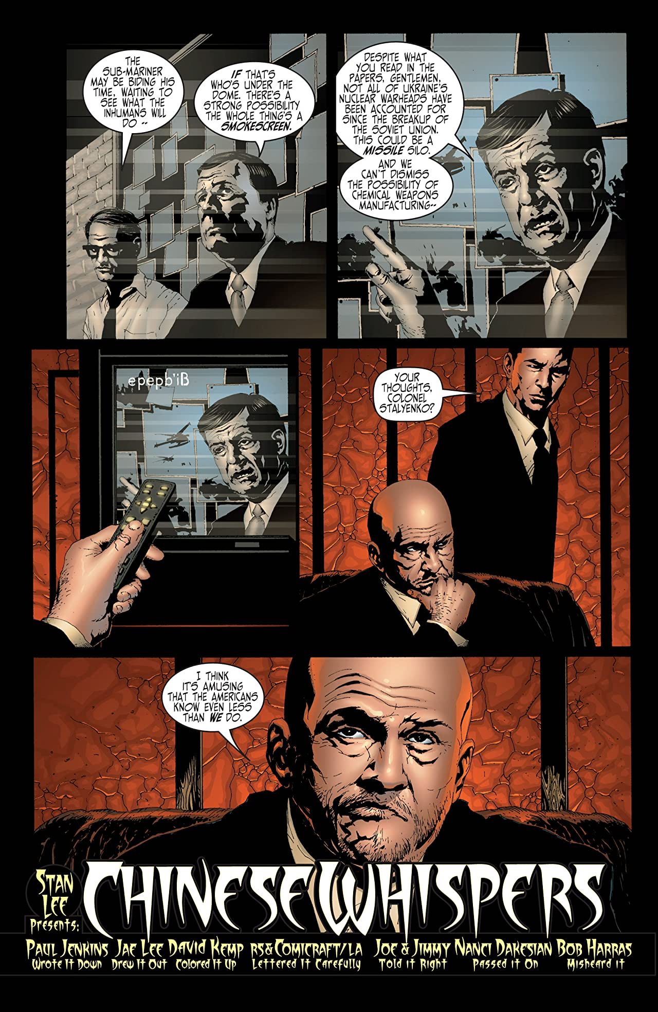 Inhumans (1998-1999) #4 (of 12)