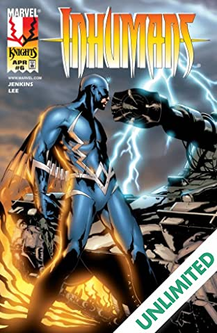 Inhumans (1998-1999) #6 (of 12)