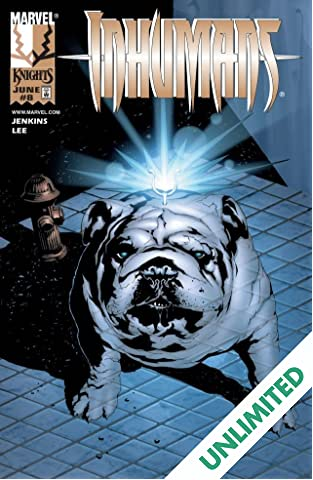Inhumans (1998-1999) #8 (of 12)