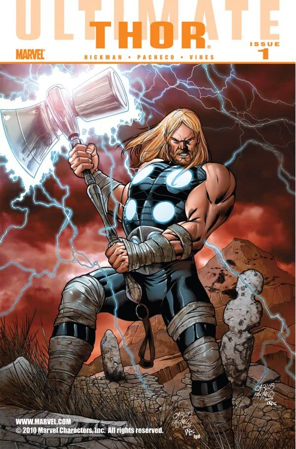 Ultimate Comics Thor No.1 (sur 4)