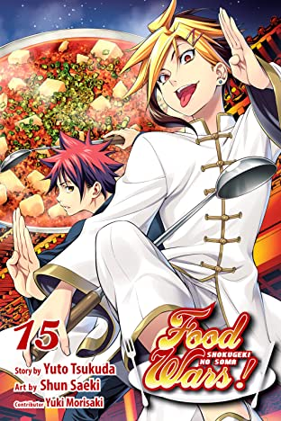 Food Wars!: Shokugeki no Soma Vol. 15