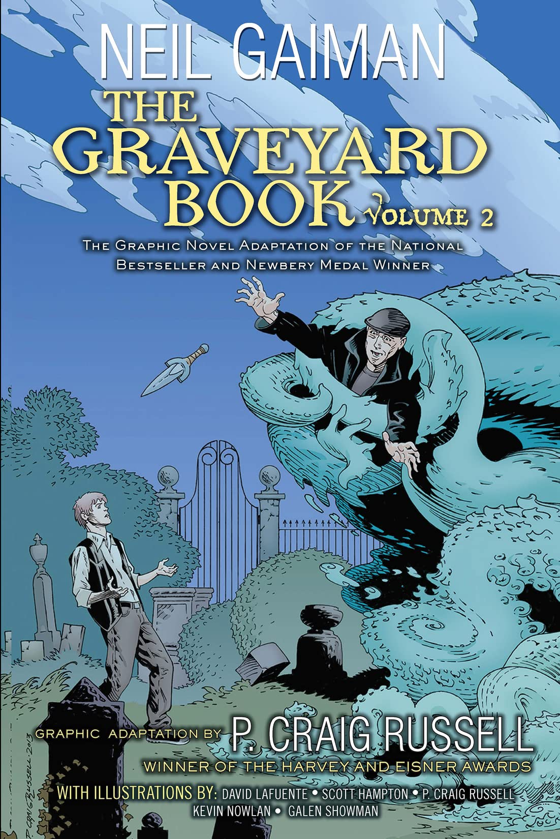 The Graveyard Book Graphic Novel Vol. 2