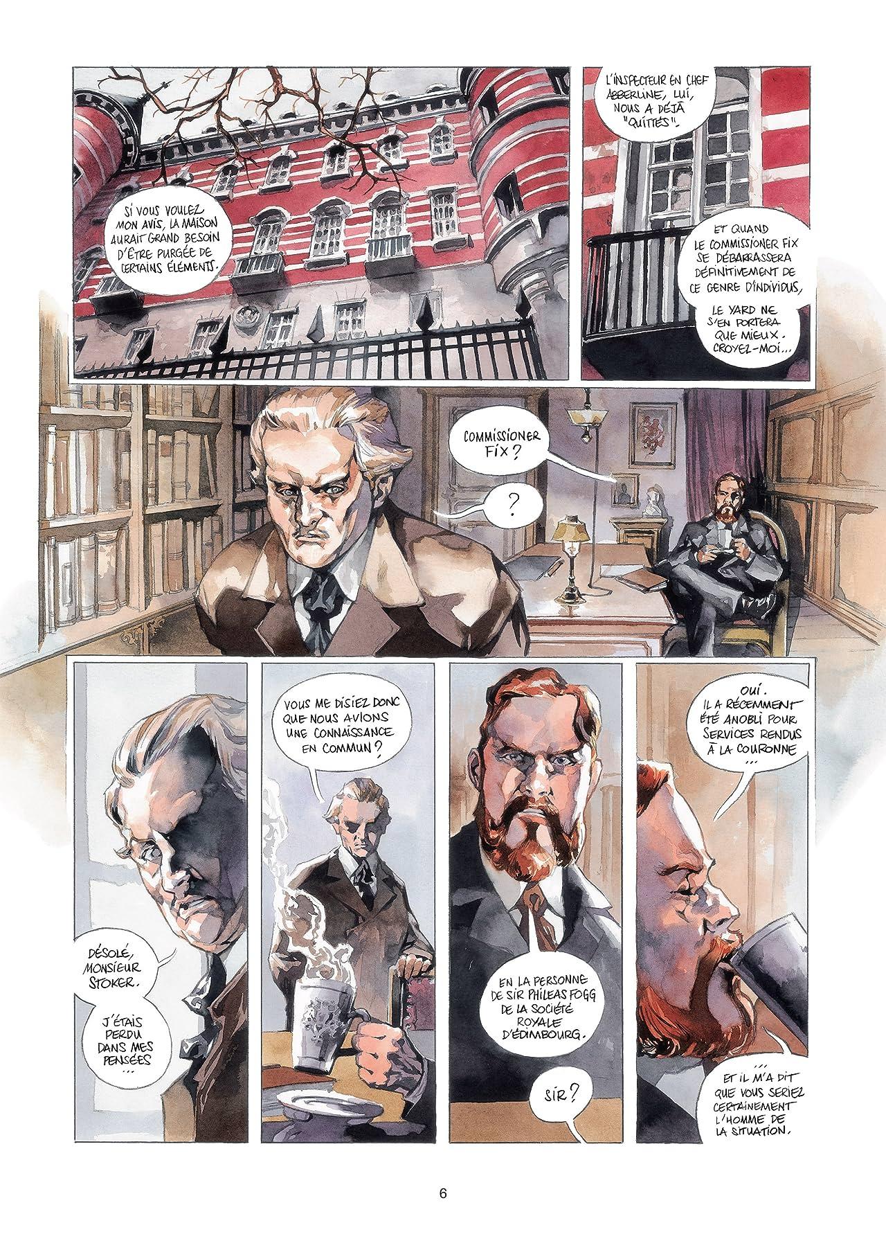 Scotland Yard Vol. 1: Au cœur des ténèbres