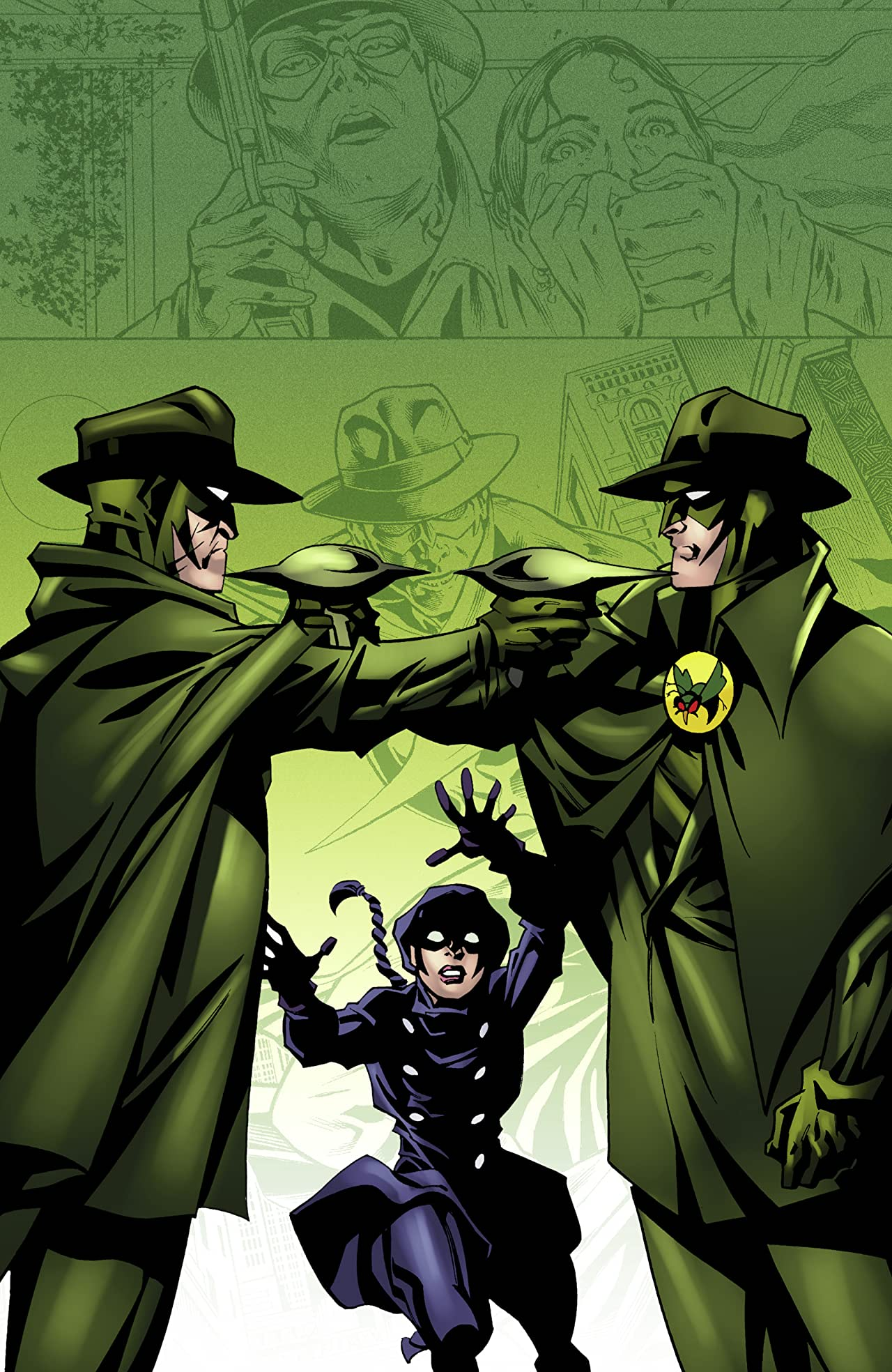Green Hornet Vol. 5: Outcast