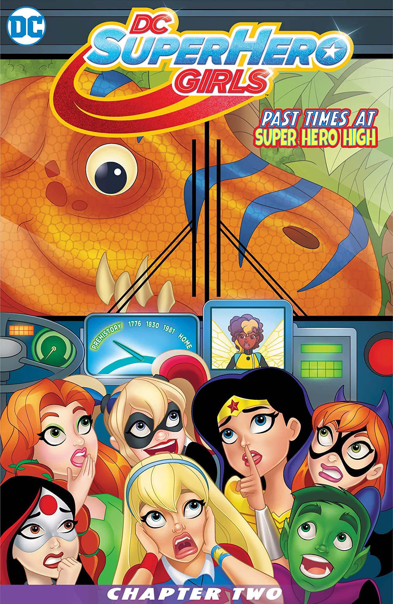 DC Super Hero Girls: Past Times at Super Hero High (2016-) #2
