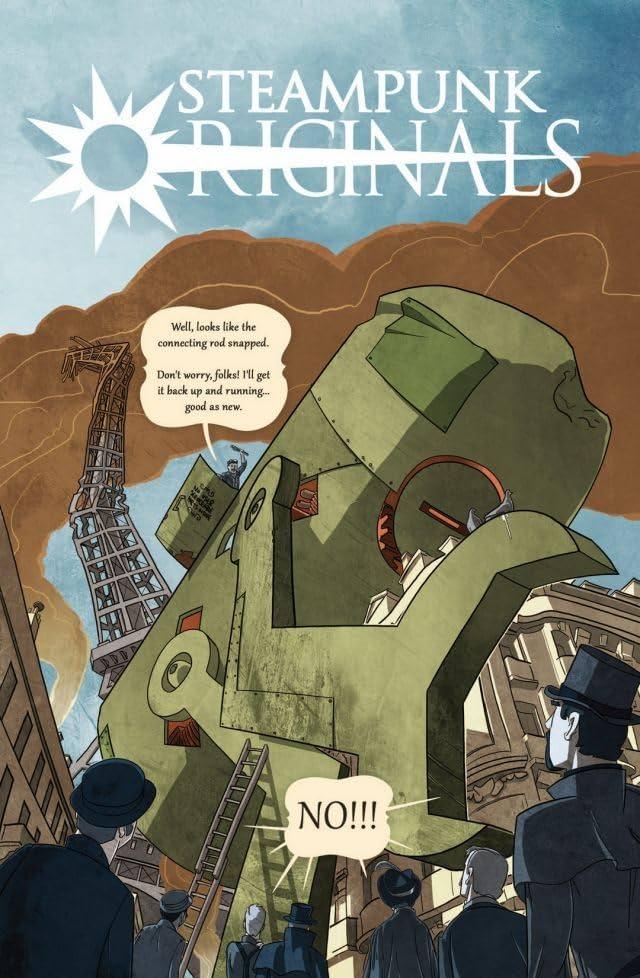 SteamPunk Originals Vol. 1