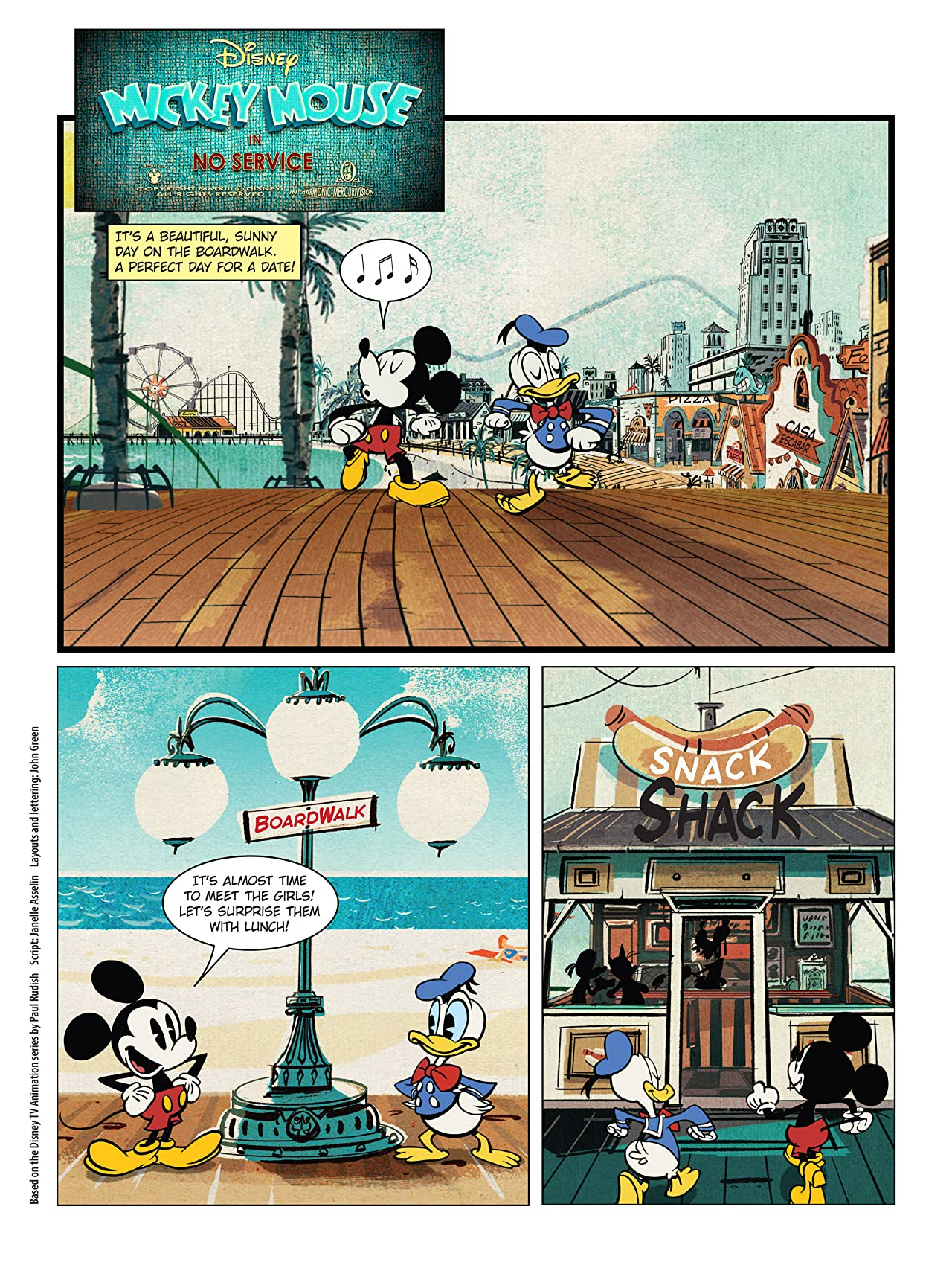 Mickey Mouse #1: Mickey Shorts