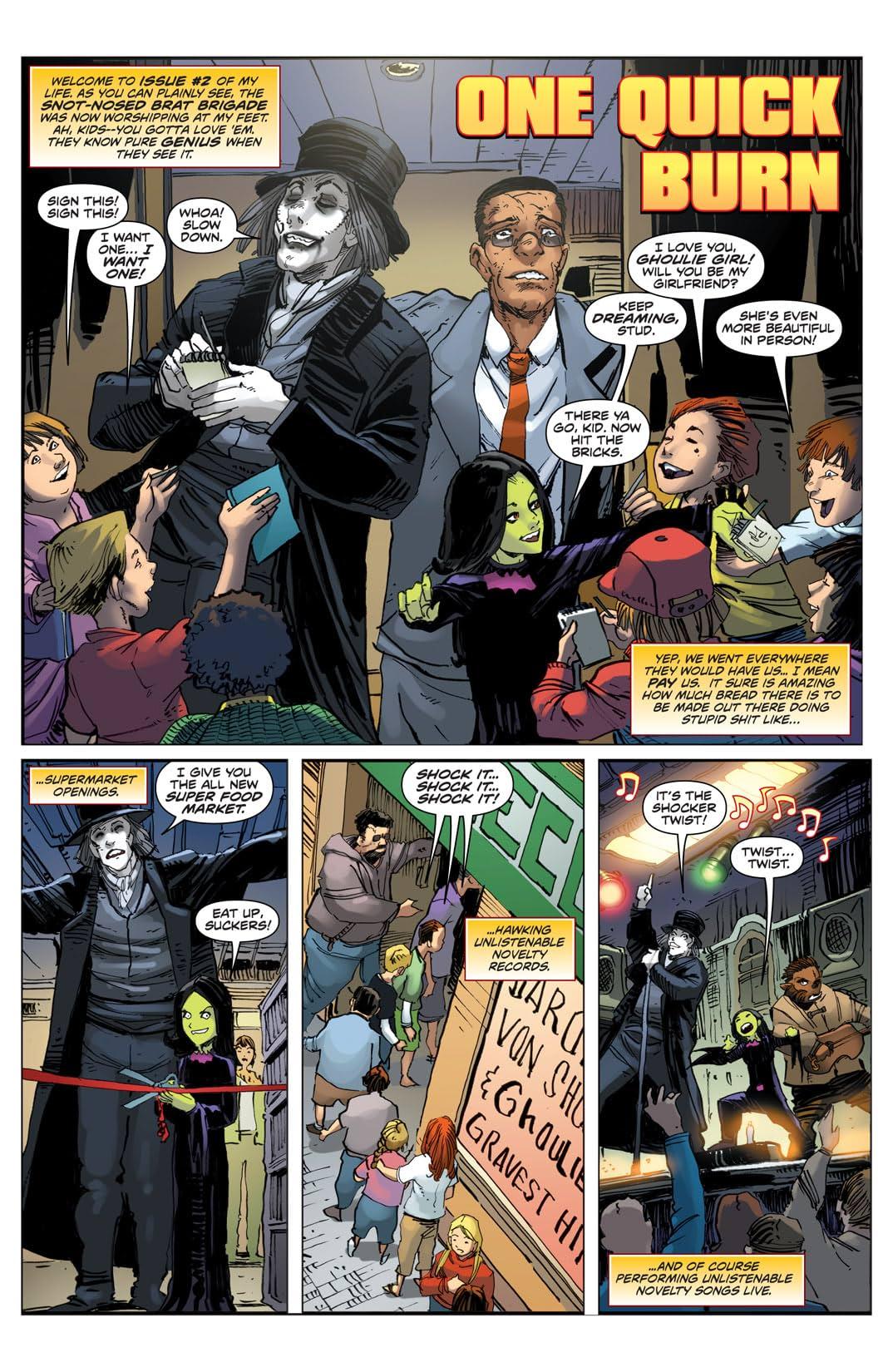 Whatever Happened To Baron Von Shock? #2