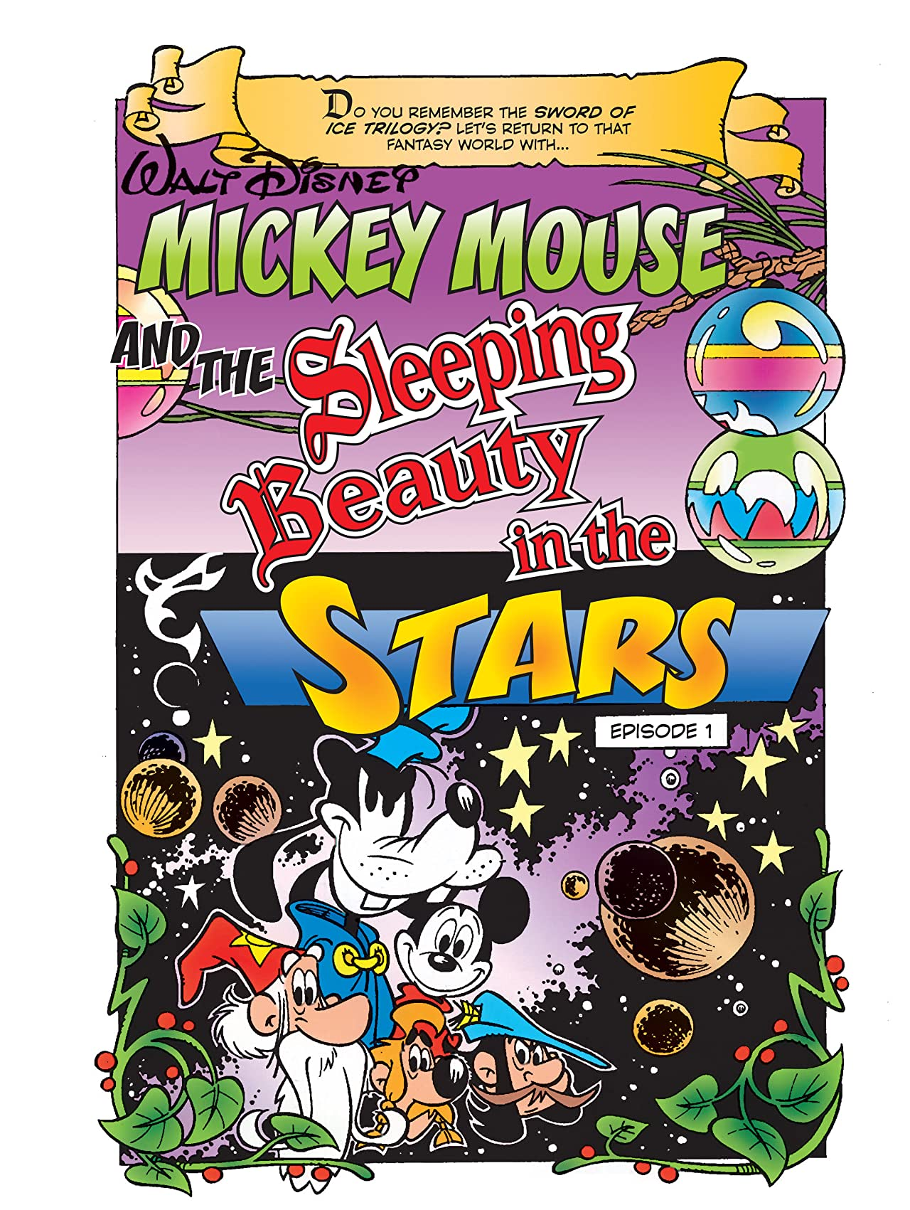 Mickey Mouse and the Sleeping Beauty in the Stars #1