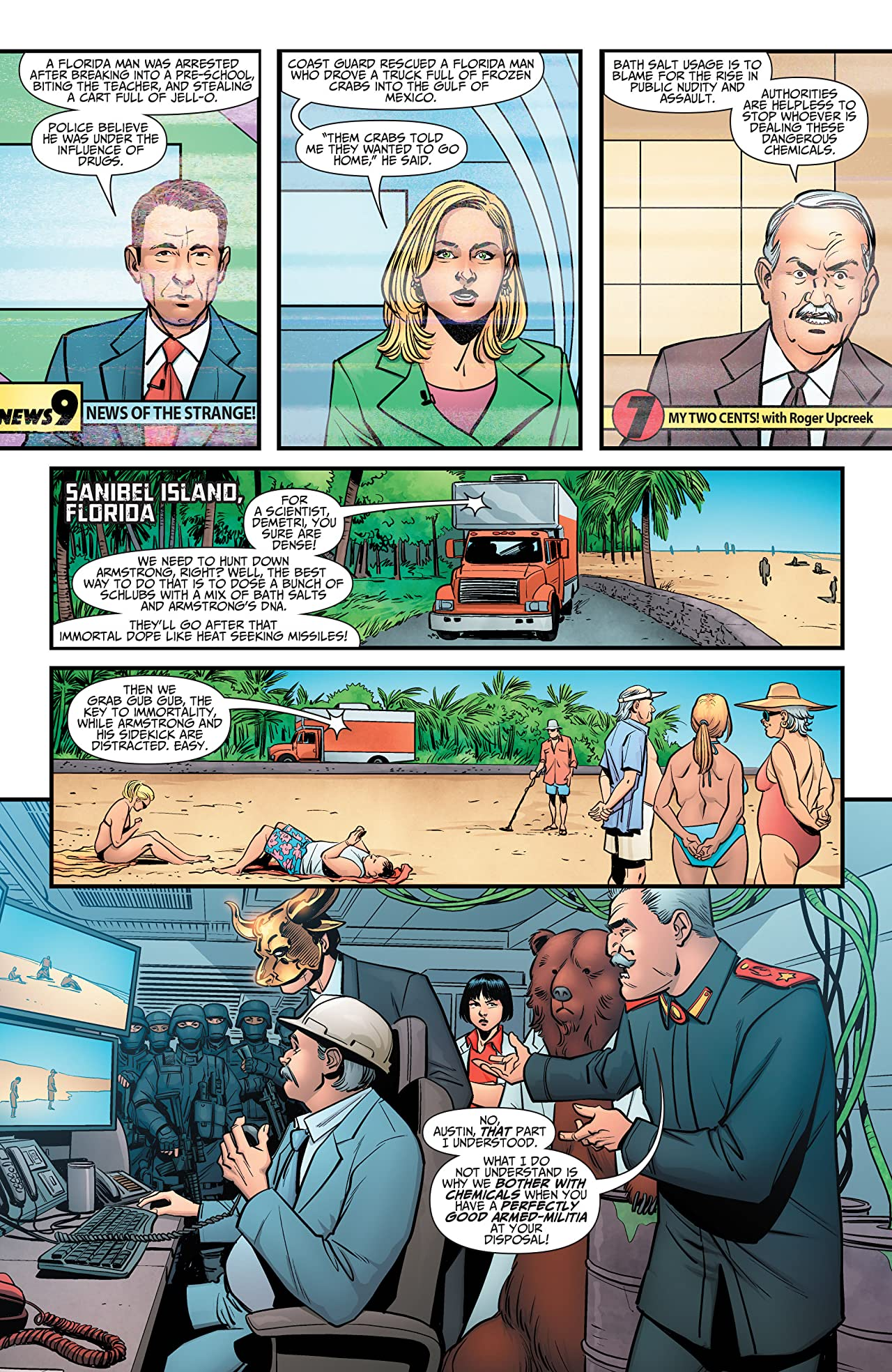 A&A: The Adventures of Archer & Armstrong #10