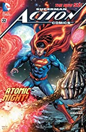 Action Comics (2011-2016) #22