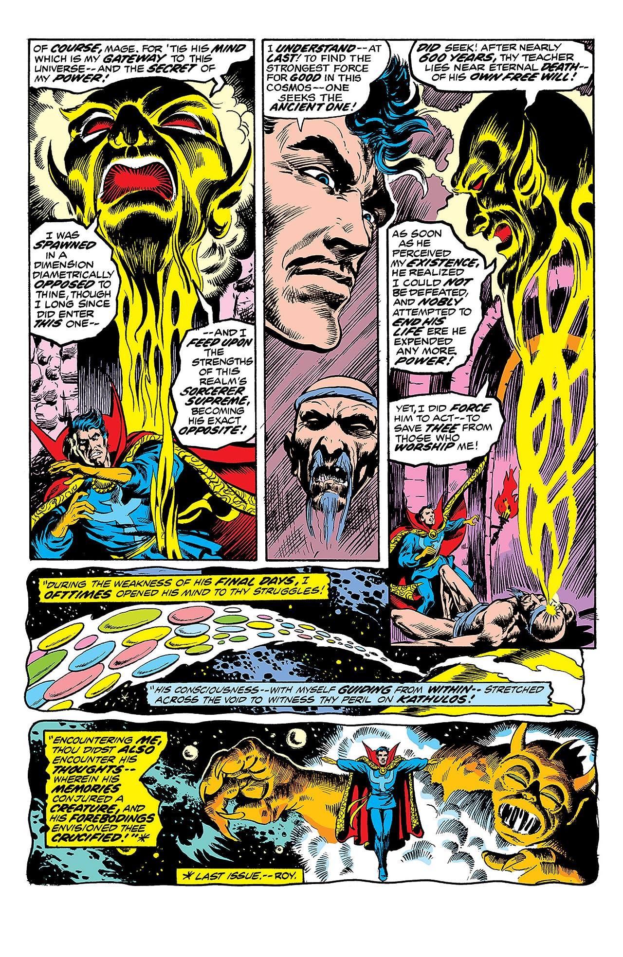 Marvel Premiere (1972-1981) #10