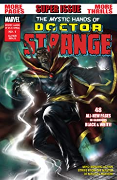 Mystic Hands of Doctor Strange (2010) #1