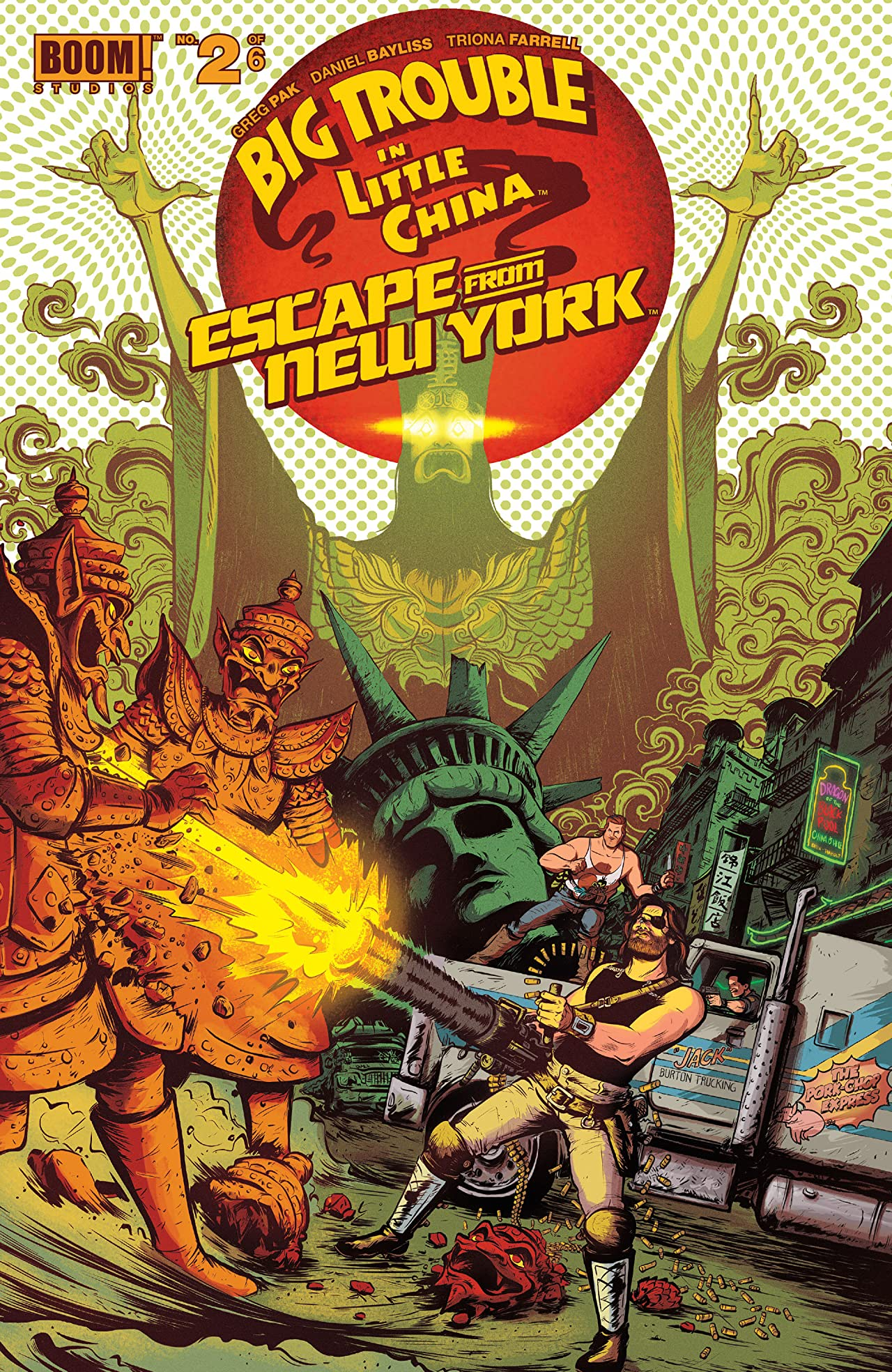 Big Trouble in Little China/Escape From New York #2 (of 6)