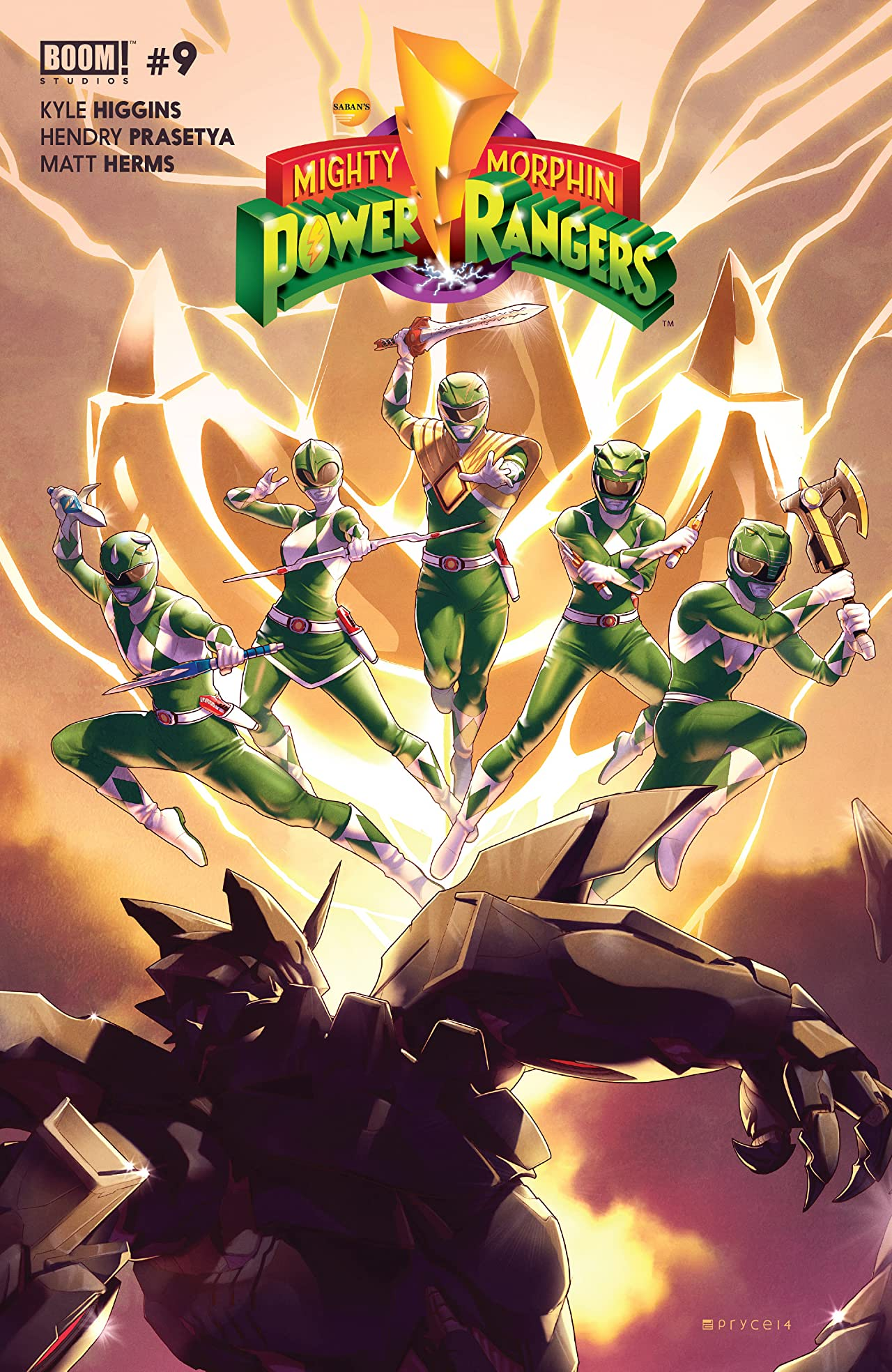 Mighty Morphin Power Rangers #9