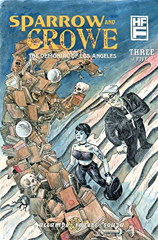 Sparrow & Crowe: The Demoniac of Los Angeles #3