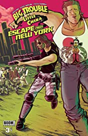 Big Trouble in Little China/Escape From New York #3 (of 6)