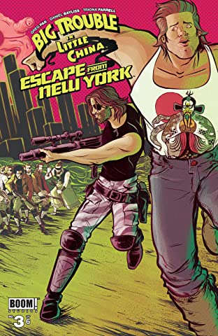 Big Trouble in Little China/Escape From New York #3