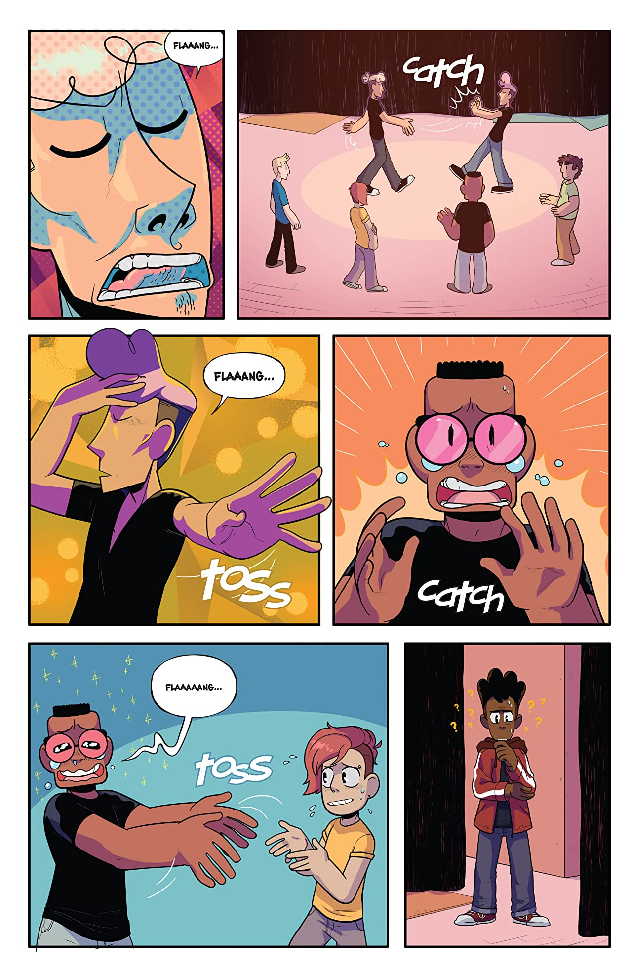 The Backstagers #5 (of 8)