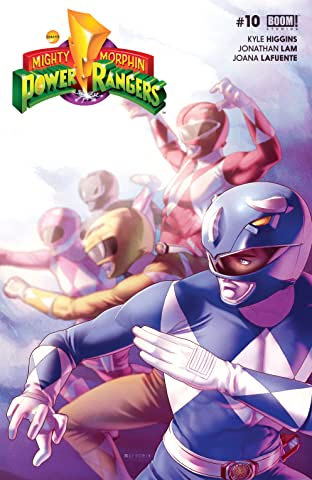 Mighty Morphin Power Rangers No.10
