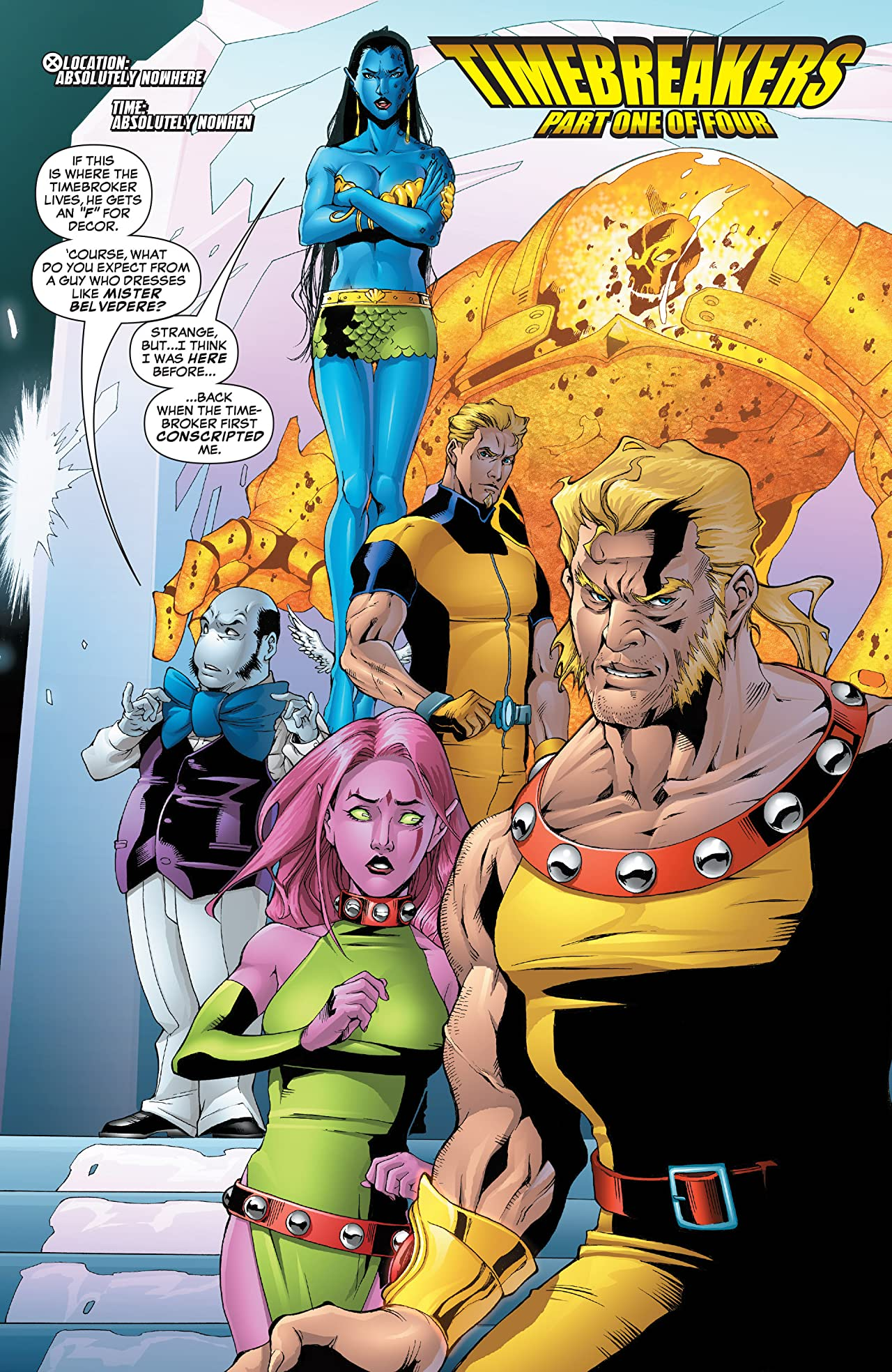 Exiles Vol. 11: Timebreakers
