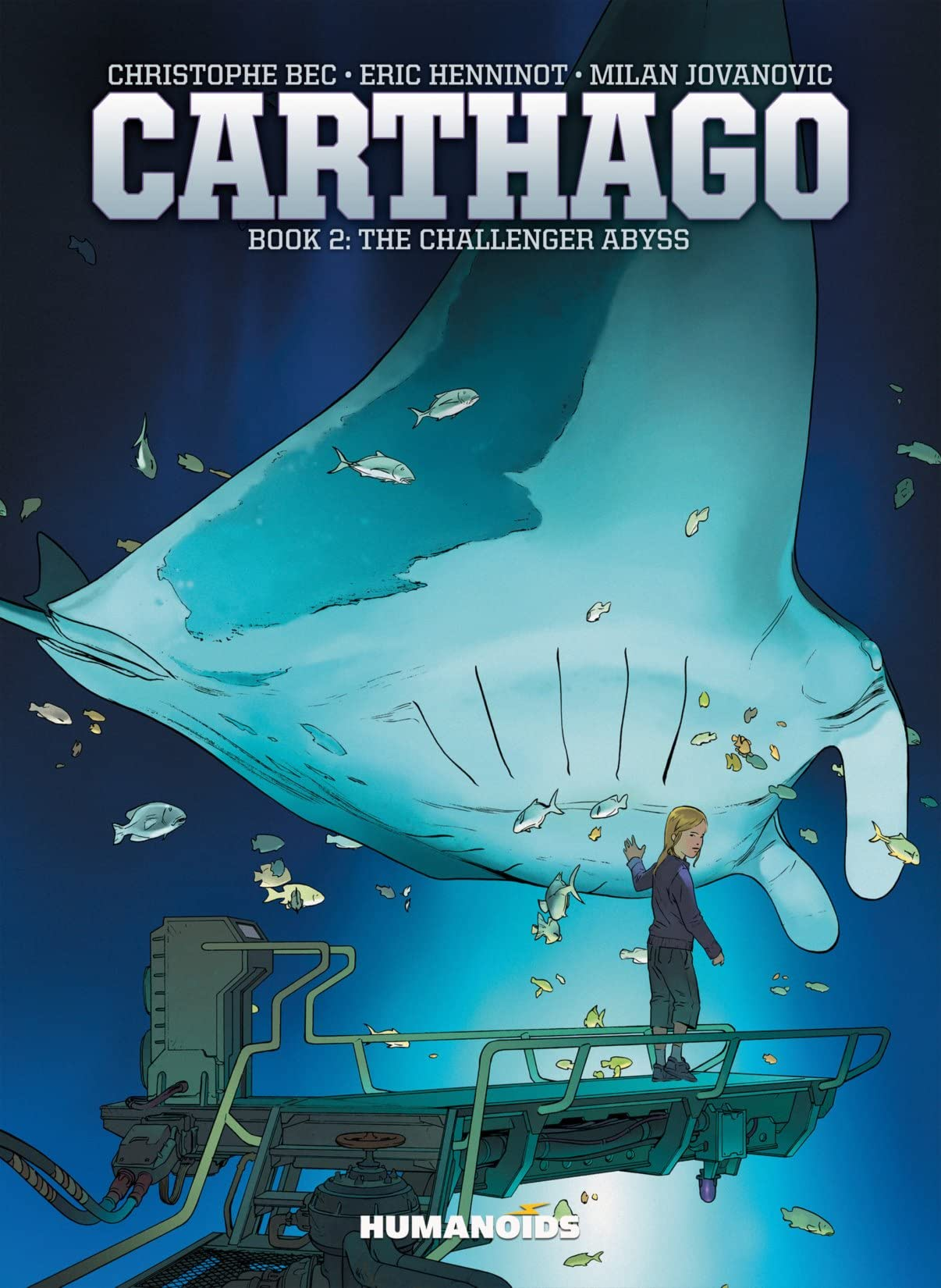 Carthago Vol. 2: The Challenger Abyss