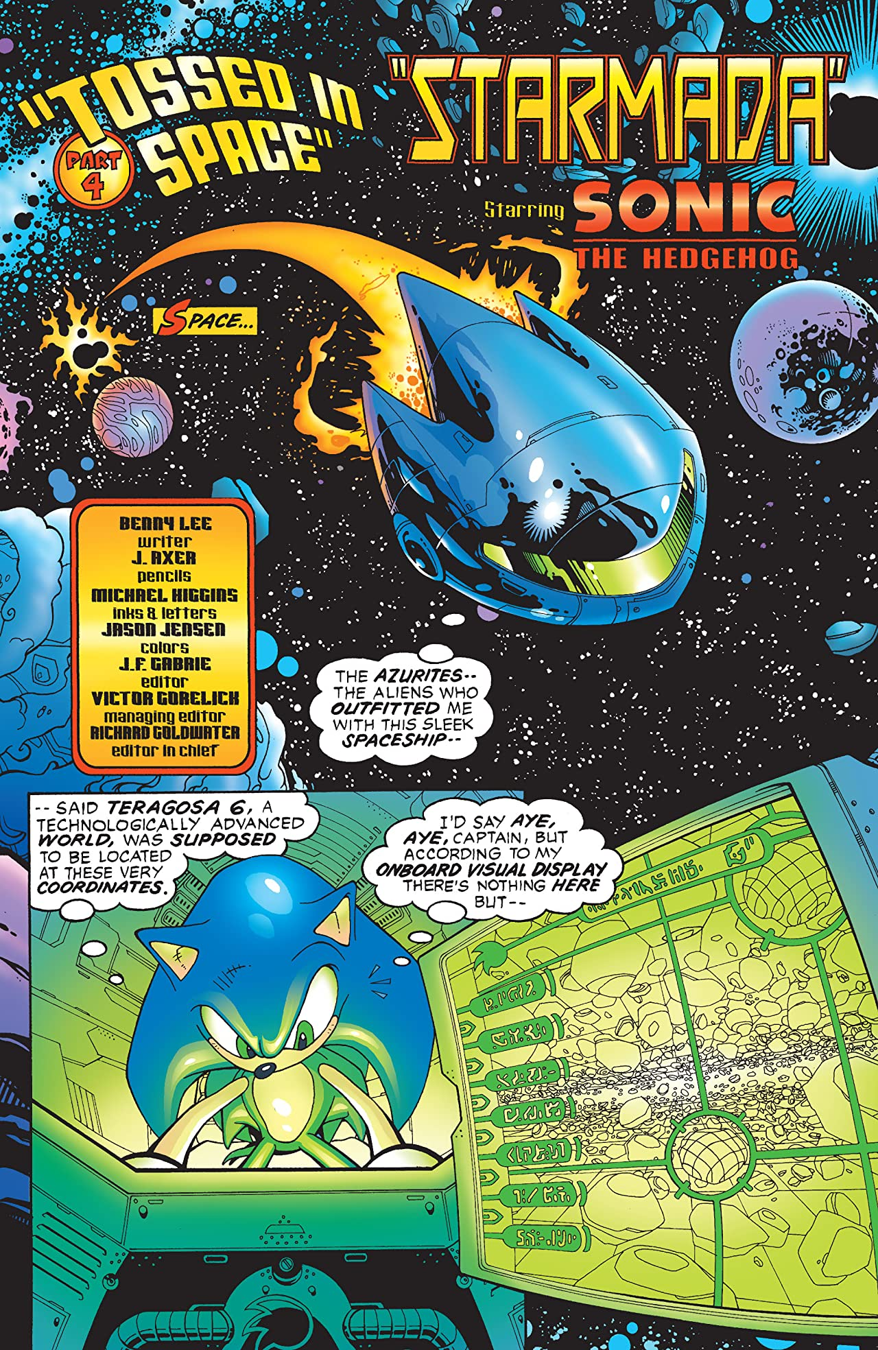 Sonic the Hedgehog #128