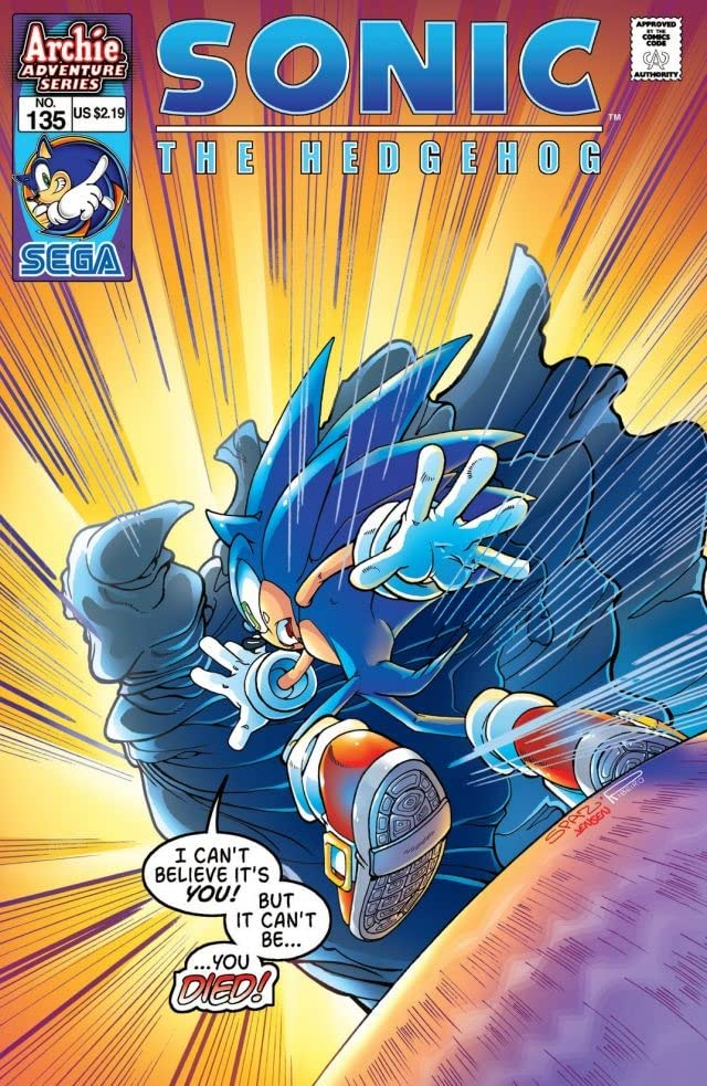 Sonic the Hedgehog #135