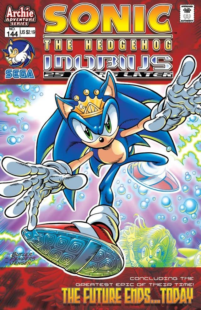 Sonic the Hedgehog #144