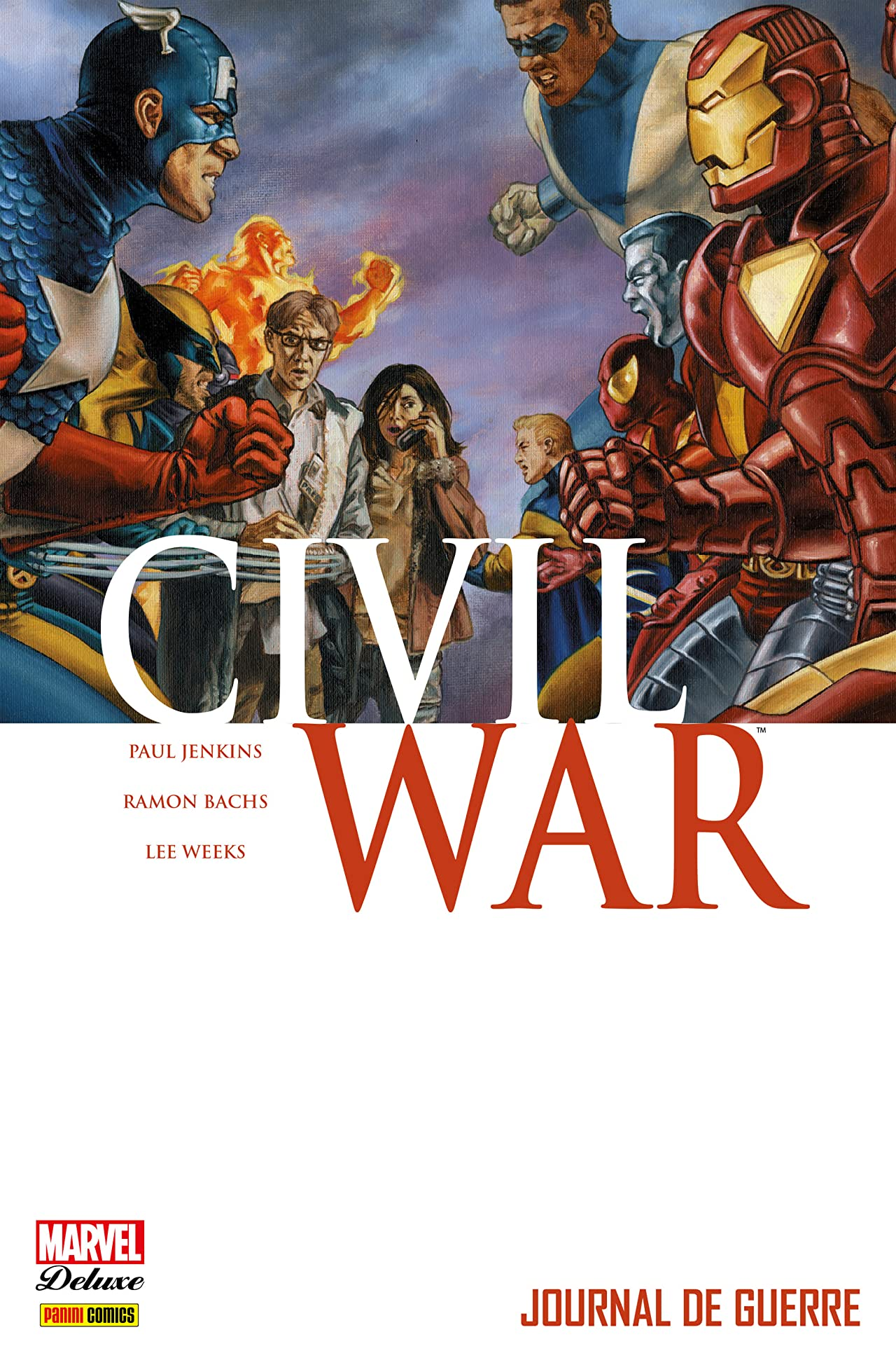 Civil War Vol. 4: Journal De Guerre