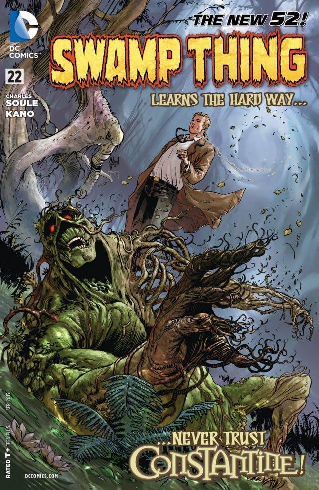 Swamp Thing (2011-2015) #22