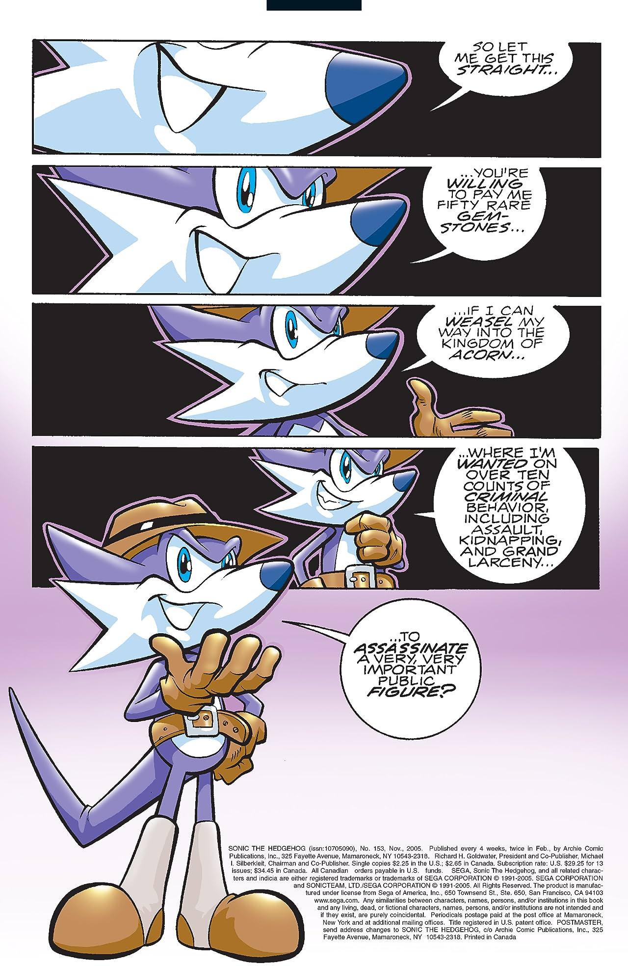 Sonic the Hedgehog #153