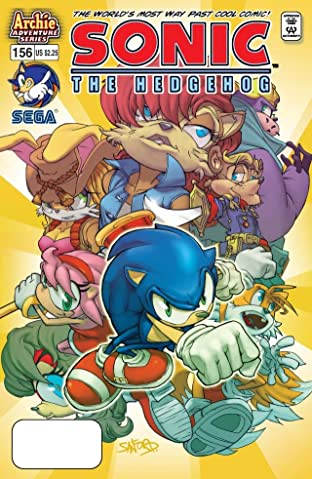 Sonic the Hedgehog #156