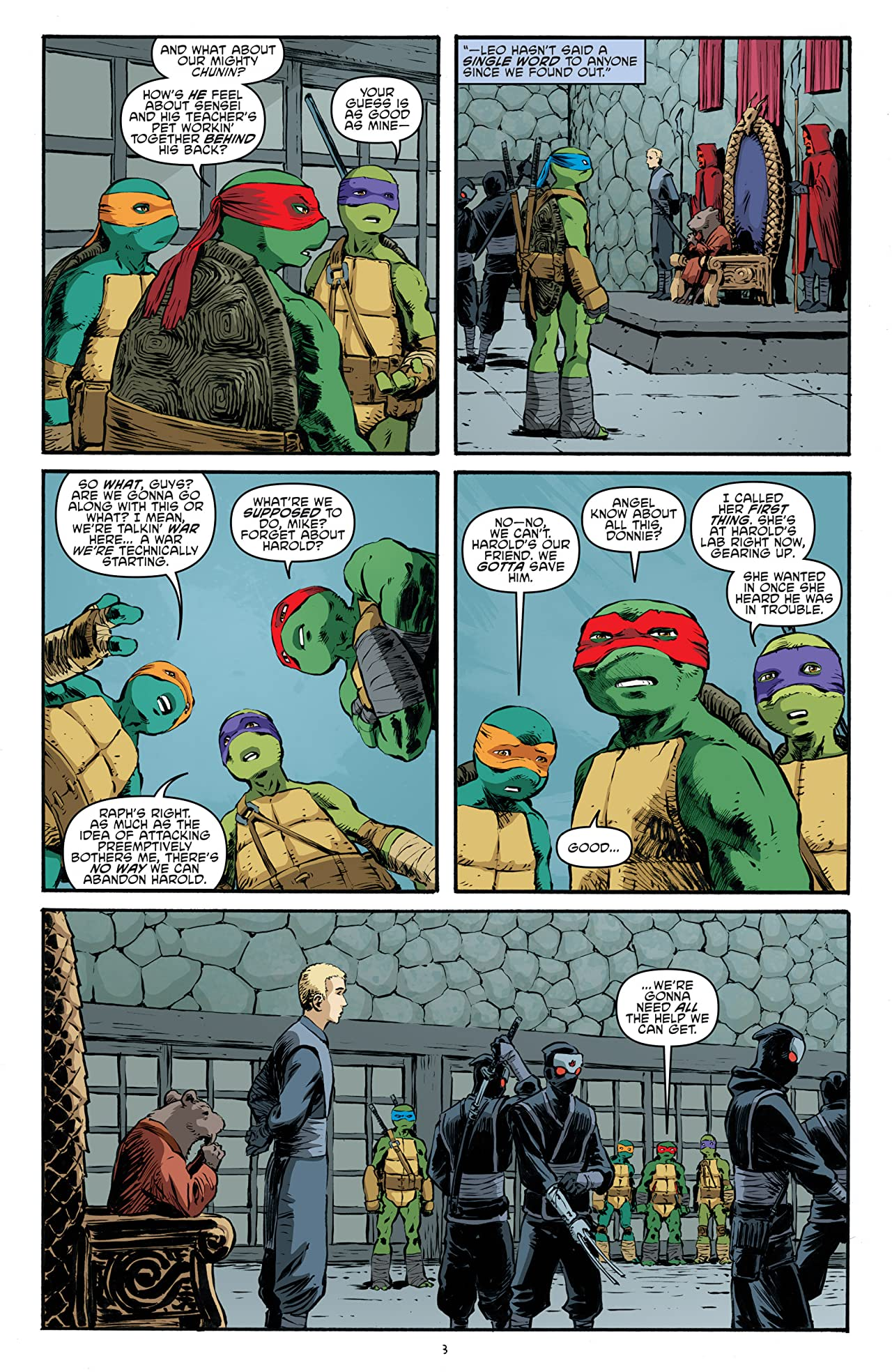 Teenage Mutant Ninja Turtles #63