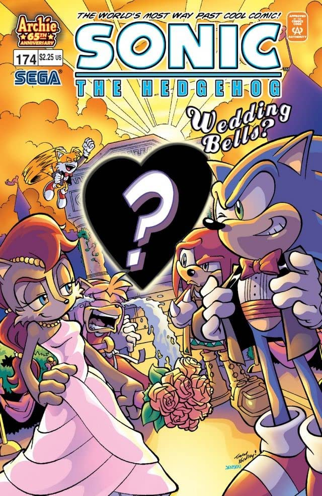 Sonic the Hedgehog #174