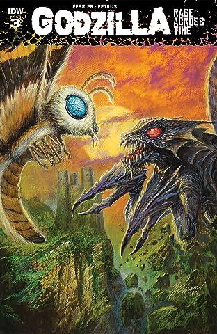 Godzilla: Rage Across Time No.3 (sur 5)