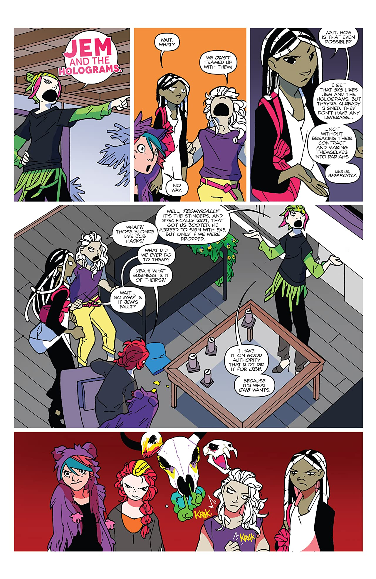 Jem and the Holograms (2015-) #20