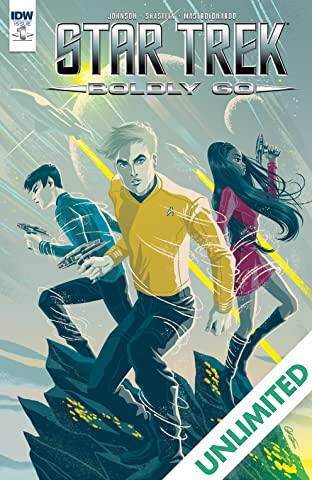 Star Trek: Boldly Go #1