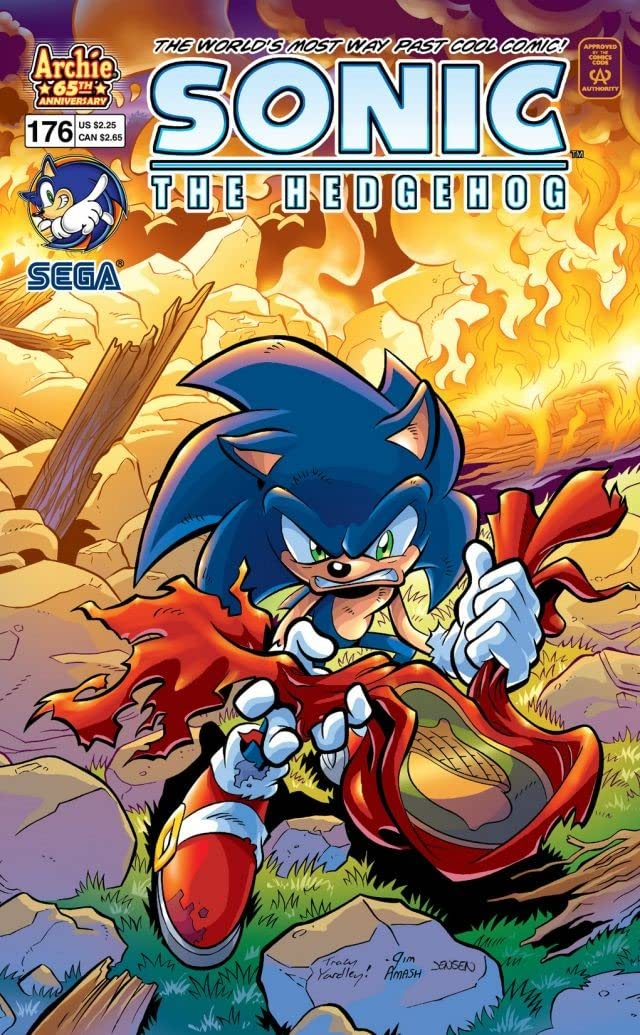 Sonic the Hedgehog #176