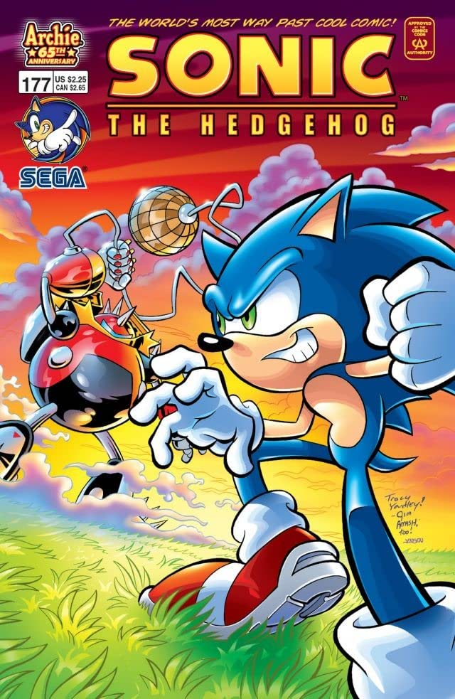 Sonic the Hedgehog #177
