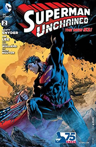 Superman Unchained (2013-2014) No.2