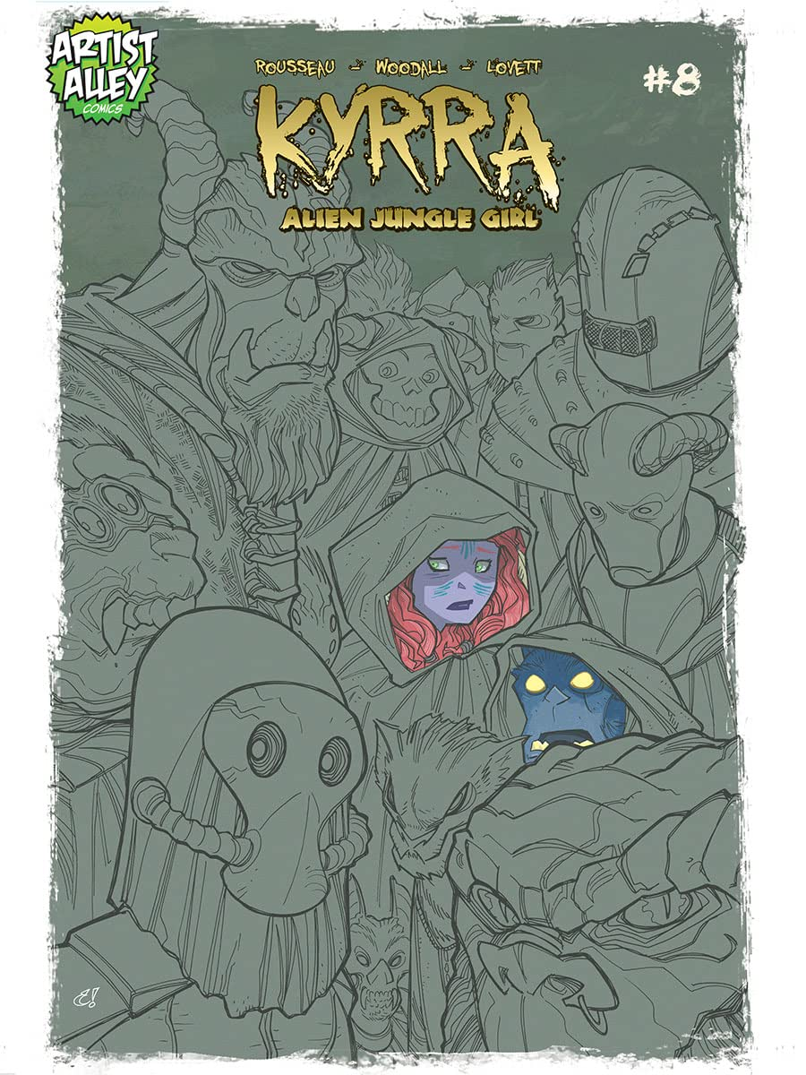 Kyrra: Alien Jungle Girl #8