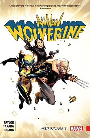 All-New Wolverine Tome 2: Civil War II