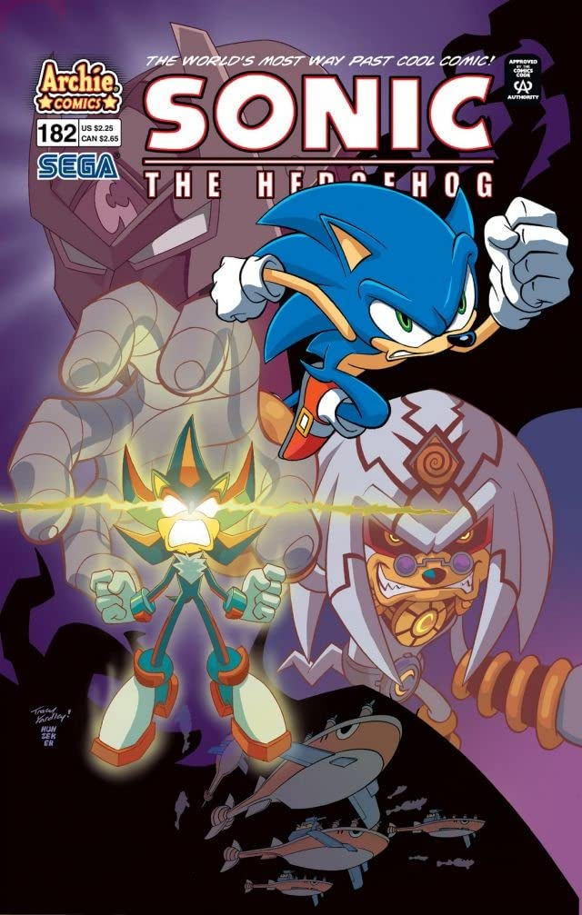 Sonic the Hedgehog #182